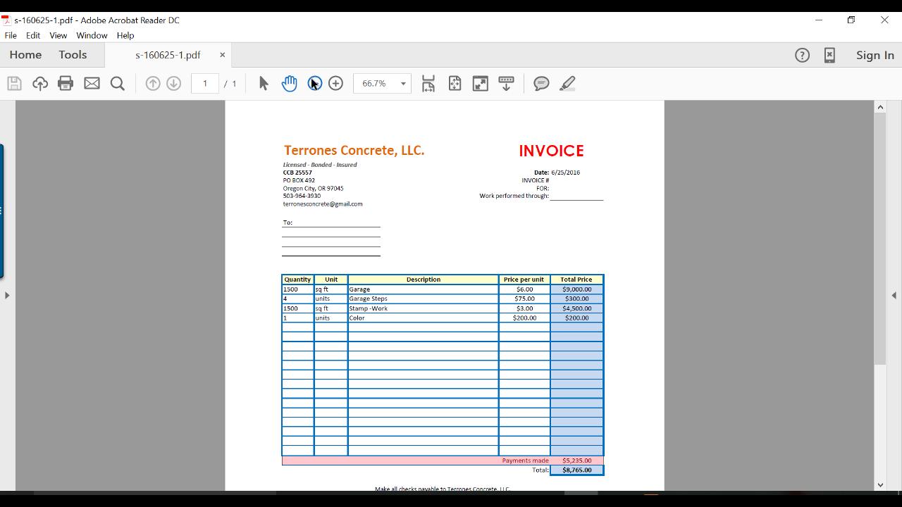 como hacer un invoice invoice design inspiration With como hacer un invoice